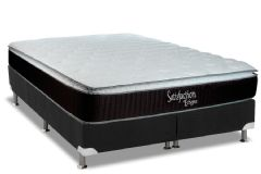 Colchão Luckspuma de Molas Bonnel Satisfaction Eclypse  Pillow Top
