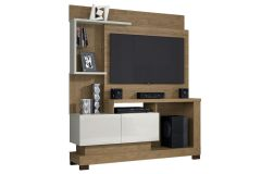 Home Theater Linea Brasil Turin Smart Wood p/ Tv de até 50 Polegadas